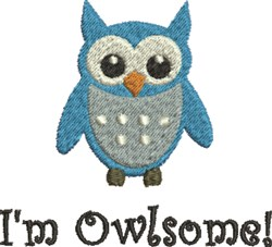 Awesome Owlsome embroidery design