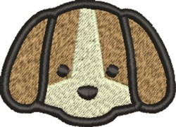 Puppy Head embroidery design