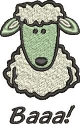 Sheep Baaa embroidery design