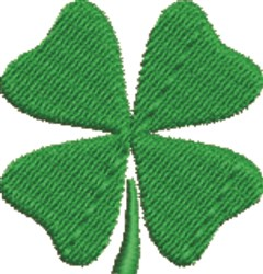4-Leaf Shamrock embroidery design