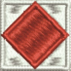 Nautical Flag F Foxtrot embroidery design
