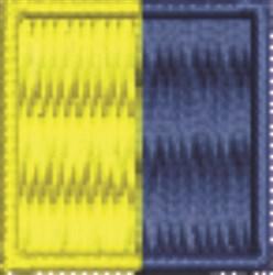 Nautical Flag K Kilo embroidery design