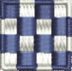 Nautical Flag N November embroidery design