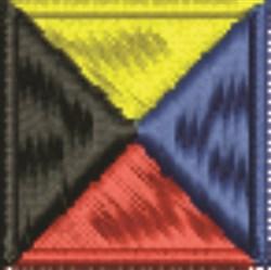 Nautical Flag Z Zulu embroidery design