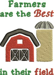 Best In The Field embroidery design
