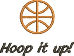 Hoop It Up embroidery design