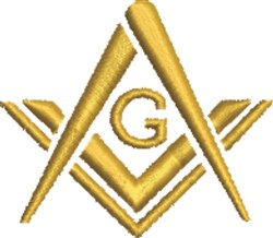 Masonic Symbol embroidery design