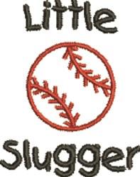 Little Slugger embroidery design