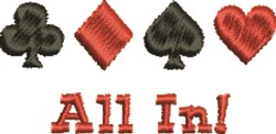 All In embroidery design
