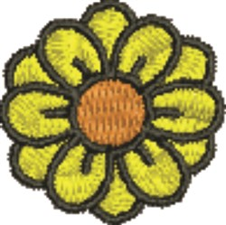 Daisy Bloom embroidery design