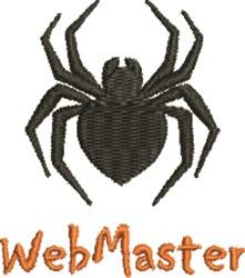 Web Master embroidery design