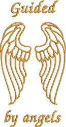 Guided By Angels embroidery design