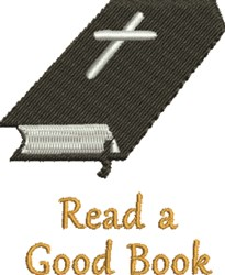 Good Book embroidery design