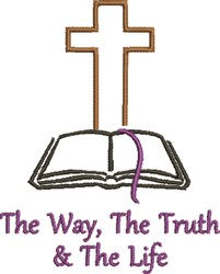 The Truth embroidery design