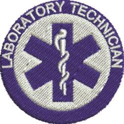 Laboratory Technician embroidery design