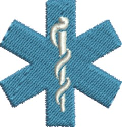 Medical Symbol embroidery design