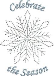 Celebrate Season embroidery design