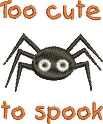 Cute To Spook embroidery design