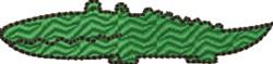 Little Alligator embroidery design