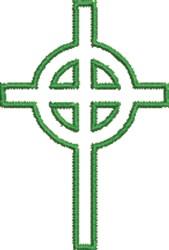 Celtic Cross embroidery design