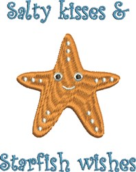 Starfish Wishes embroidery design