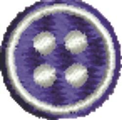 Button embroidery design