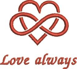 Infinate Love embroidery design