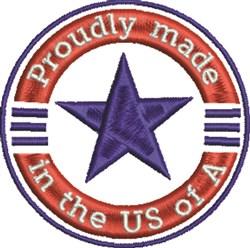 Patriotic Design embroidery design
