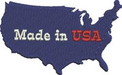 USA Silhouette embroidery design