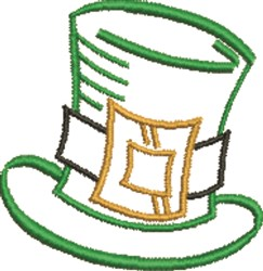 Leprechaun Hat embroidery design