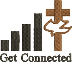 Christ Connection embroidery design