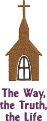 Church Life embroidery design