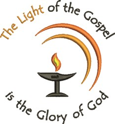 Light Of The Gospel embroidery design