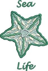 Sea Life embroidery design