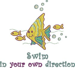 Your Own Direction embroidery design
