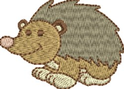 Happy Hedgehog embroidery design