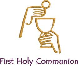 First Eucharist  embroidery design