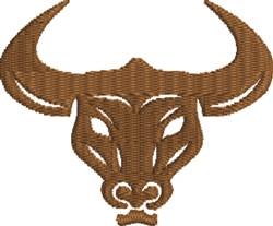 Longhorn  embroidery design