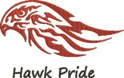 Hawk Pride embroidery design
