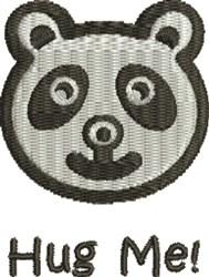 Hug Me embroidery design