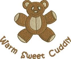 Cuddly Bear embroidery design