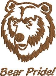 Bear Pride embroidery design