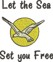 Set You Free embroidery design