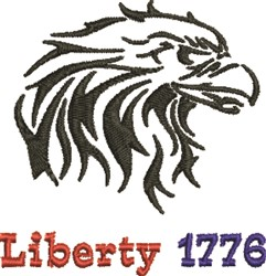 Liberty 1776 embroidery design