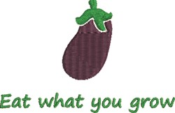 What You Grow embroidery design