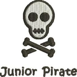 Junior Pirate embroidery design