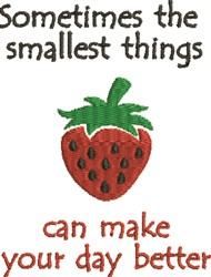 Make Day Better embroidery design