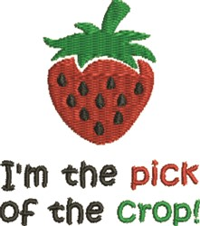 Pick Of Crop embroidery design