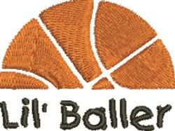Basketball Baller embroidery design