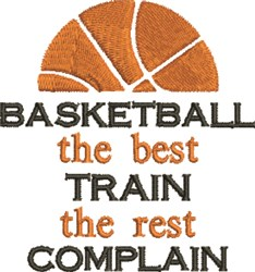 Basketball Best embroidery design